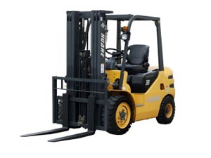 3ton Diesel Forklift with 6000mm lift height